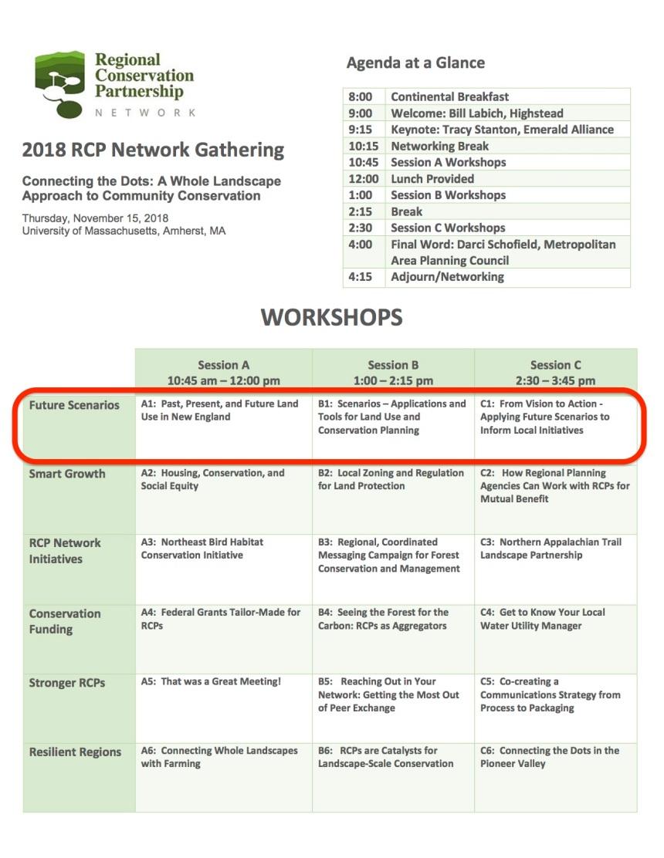 2018 RCP Gathering Agenda